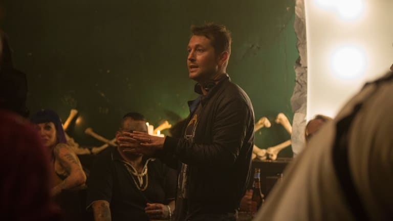 "Writer-director Leigh Whannell: ""One rule I have is to only get involved in something I'm super passionate about."""