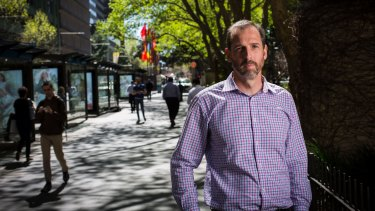 Marcus Bohman, 40, joined Gamblers Anonymous and saw a psychologist to help him stop gambling.