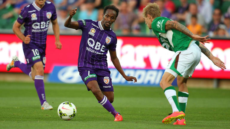 Short-lived stint: Youssouf Hersi is leaving Perth Glory.