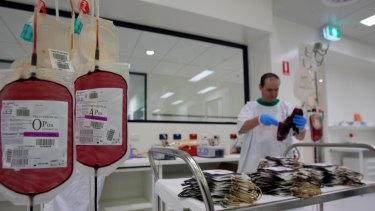 The breach of data comes from the Australian Red Cross Blood Service and dates back to 2010.