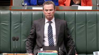 Education Minister Christopher Pyne says the government has a particular responsibility for independent schools that it doesn't have for public schools.