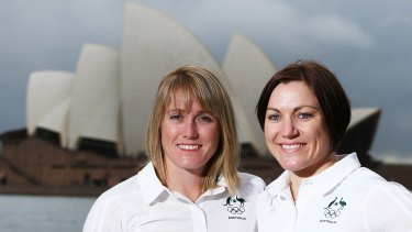 Tweet-free: Sally Pearson and Anna Meares switched off their social media accounts during the London Olympics.