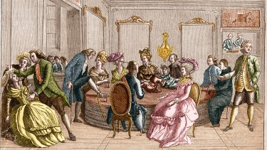 In the 1700s, Franz Mesmer practised 'mesmerism', inducing trances, in Paris salons.