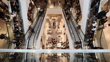 Department store John Lewis, in Westfield Stratford City shopping centre  in London, is the largest urban shopping centre in Europe.