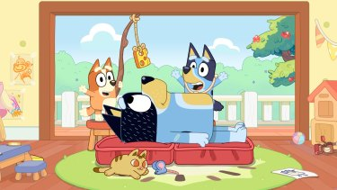 """<i>Bluey</i> discards the """"bumbling dad trope""""."""