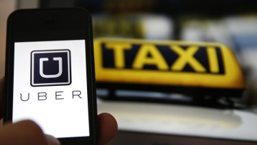 The government has warned the taxi industry on the eve of strike action that it cannot stop Uber's arrival.
