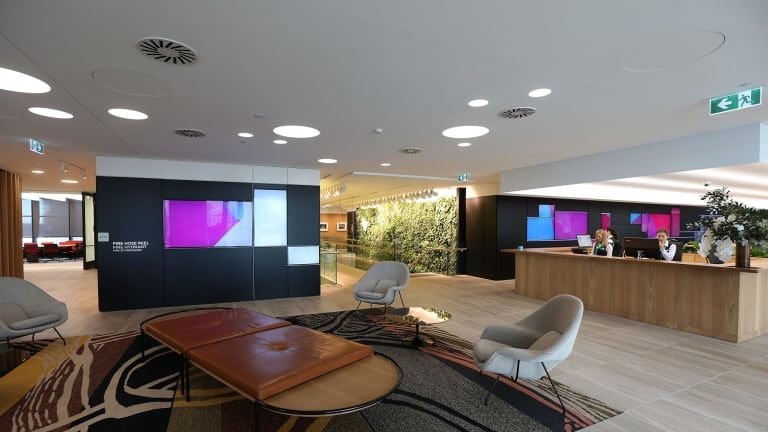 Lendlease's new offices at Barangaroo tower showcase the latest in office design.
