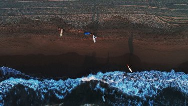 A warm dawn brought plenty of surfers and swimmers out on the northern beaches on Monday.