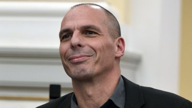 Mammoth task: Greek finance minister Yanis Varoufakis.