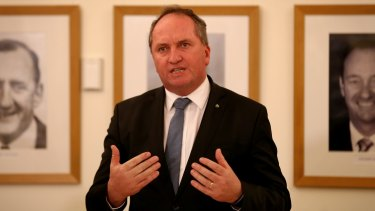 Deputy Prime Minister Barnaby Joyce is expected to be re-sworn in as agriculture minister this week.