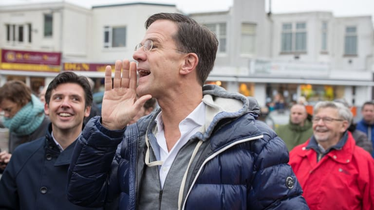 Mark Rutte, Dutch prime minister and leader of the Liberal Party.