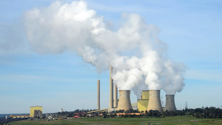 One of the four giant units at Victoria's ageing Loy Yang A power station broke down on Tuesday night and early on Wednesday morning.