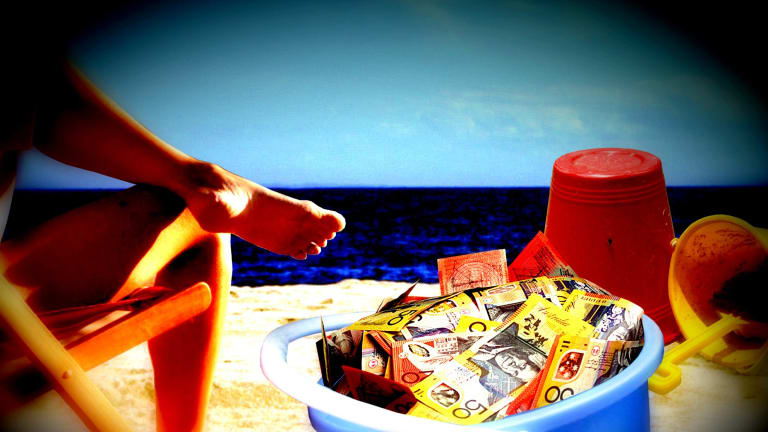 """Dividing money into different buckets is called """"mental accounting""""."""