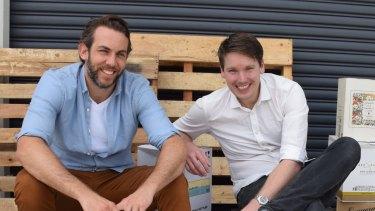 Tom Walenkamp and Banjo Harris were inspired by Netflix.