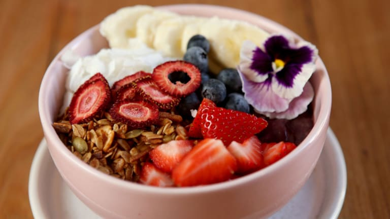 Acai bowls are cropping up on menus everywhere.