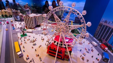 A model of the Melbourne Star Observation Wheel.