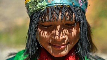 A daughter of Bhutan.