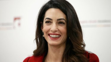 """Amal Clooney: """"I cannot feel free while thousands of other girls like me are still captive."""""""