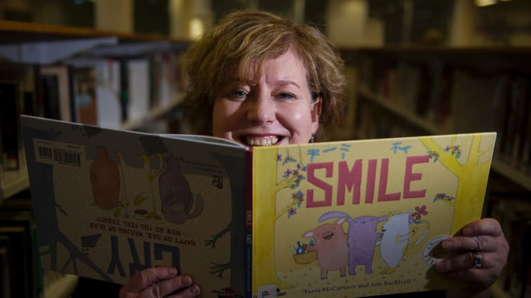 Director, Libaries ACT, Vanessa Little will be a reading books from the local author selection this summer holiday.