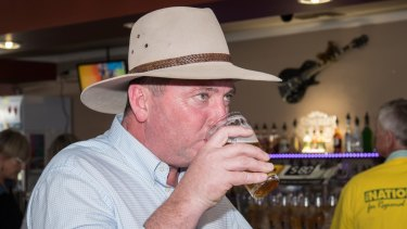 Barnaby Joyce is fighting to stay in politics but there is a question mark over decisions he made while a minister.
