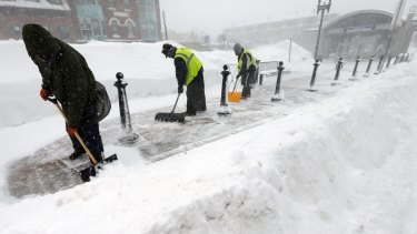 Blizzards have hit Boston but most of the US had a warmer-than-average January.