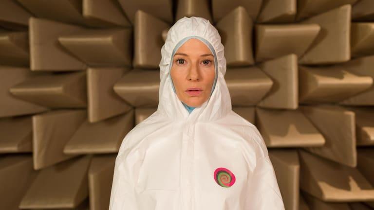 In Julian Rosefeldt's Manifesto, Cate Blanchett recites a mishmash of manifestos from avant garde and 20th century thinkers.