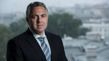 Joe Hockey is in Washington to chair a G20 finance ministers meeting.