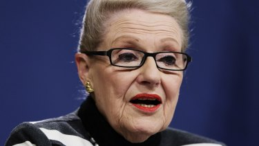 """By putting Bronwyn Bishop """"on probation"""", after her taxpayer-funded helicopter fantasy, Mr Abbott has all but co-opted her to the executive."""