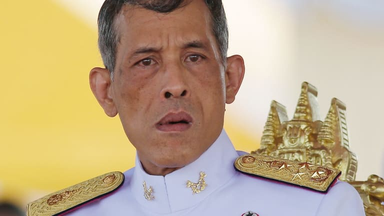 Thai Crown Prince Vajiralongkorn in Bangkok in May.