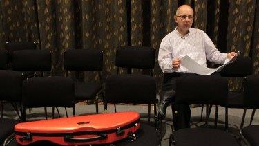 Composer Paul Stanhope ... new cello concerto.