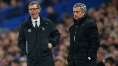 Gesture: Jose Mourinho (right) has responded to Liverpool legends.