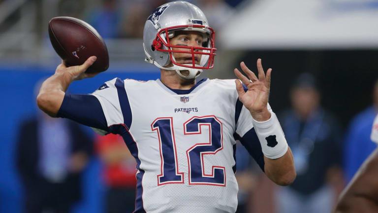New England Patriots quarterback Tom Brady is making better decisions, faster.