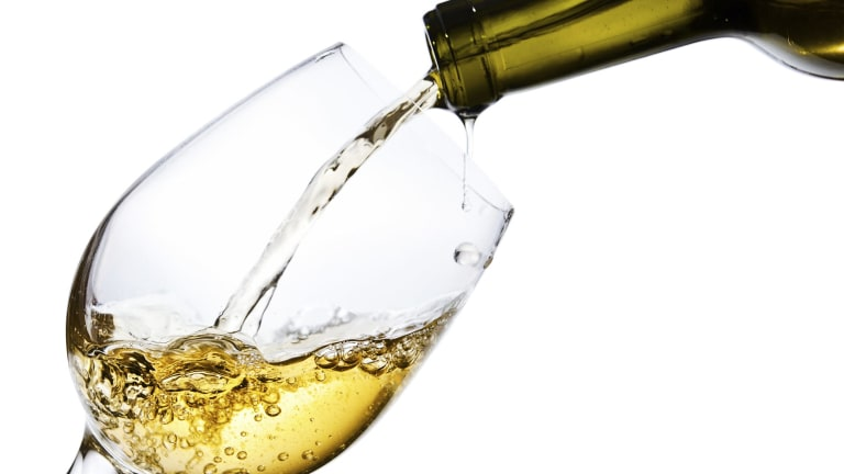 Whereas beer and spirits are taxed per unit of alcohol, wine is taxed on the basis of its wholesale price.
