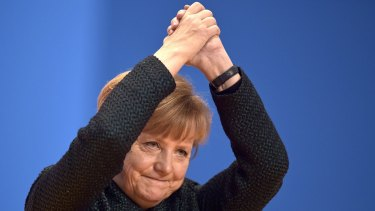 """German Chancellor Angela Merkel: """"Real feminists would be offended if I described myself as one."""""""
