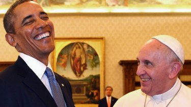 US President Barack Obama and Pope Francis are widely admired by Australians.