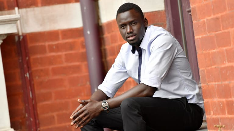 Youth worker and legal educator Deng Maleek was pulled over by police on his way to a meeting about building trust between Sudanese-Australians and local police.