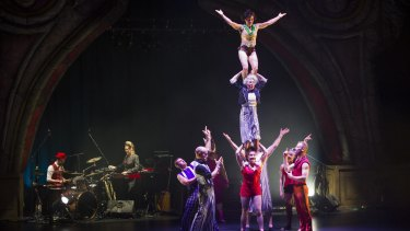 Acrobatic magic as Circus Oz takes the stage at the Canberra Theatre Centre.