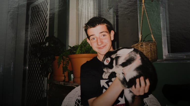 Paul loved animals and rescued his pet rabbits during the Canberra bushfires in 2003.