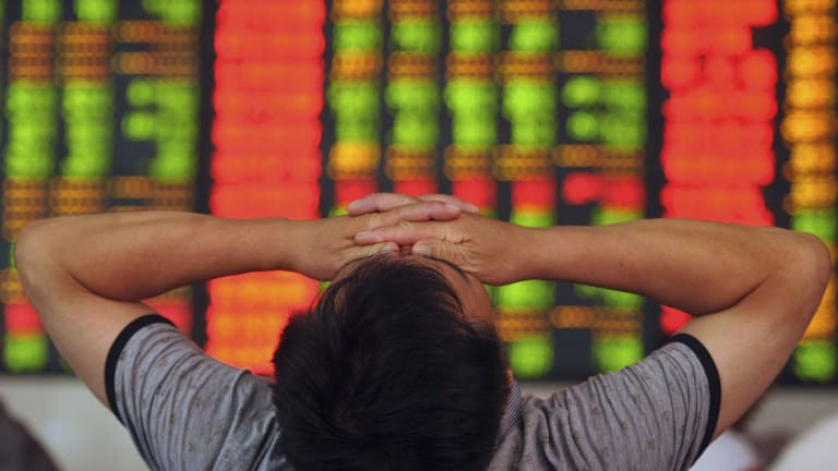 China's sharemarket rout in 2015 led to a government crack down.