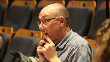 Nigel Featherstone at rehearsals for Weight of Light.
