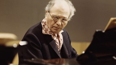 Unshakeable spirituality: Olivier Messiaen around 1975.