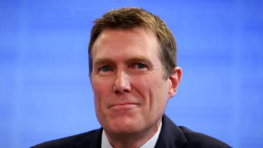 Minister for Social Services Christian Porter: Taking on the usual suspects.