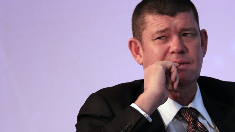 Australian gambling tycoon James Packer is frustrated that Crown Sydney has been delayed.