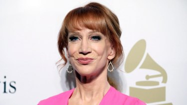 Comedian Kathy Griffin lashed out at Samantha Armytage on Sunrise.