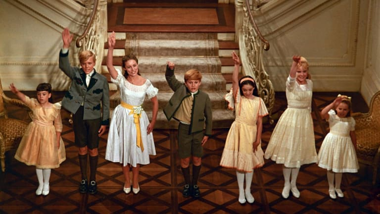 Irritating Von Trapp children sing goodbye to Gang-gang column.
