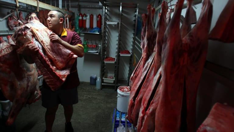 Anil Gunaydin at his Vatan Halal Butchery in Mascot,