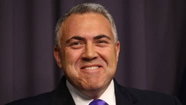 Treasurer Joe Hockey was asked about the NATSEM modelling on <i>Q&A</i>