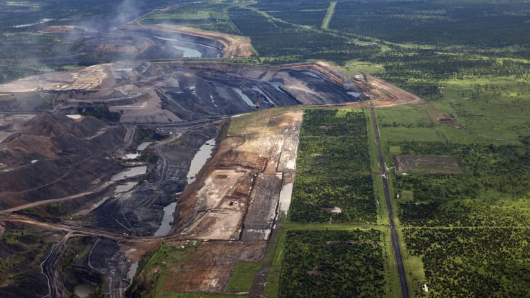 The proposed Alpha coal mine will be a full open cut mine producing 32 million tonnes a year.