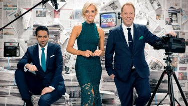 What if Waleed Aly (left) – having won a Gold Logie and served five years on <i>The Project</I> with Carrie Bickmore (centre) and Pete Helliar – decided he'd had enough of commercial TV?