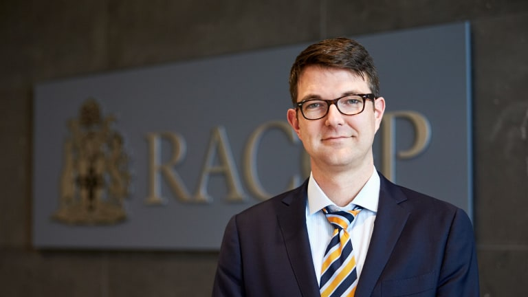 Dr Bastian Seidel is the president of the Royal Australian College of General Practitioners.